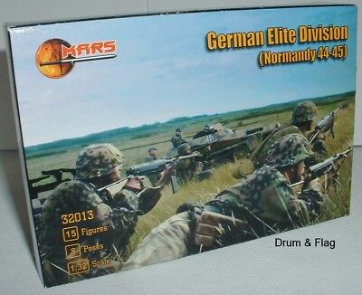 MARS 32013 German Elite Division Normandy 44-45 (Waffen SS) WW2 1/32 Scale