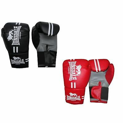 Lonsdale London Contender Boxing Gloves Gym Fitness Bag Sparring Gloves