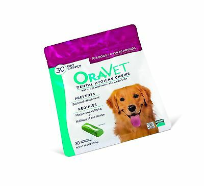 Merial Oravet Dental Hygiene Chew 50lbs and over
