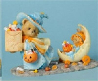Cherished Teddies - Connie & Annie - Goodies for Good Little Ghouls #4040453