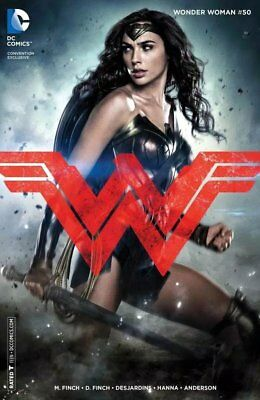 Wonder Woman #50 Gal Gadot Photo variant - FINE - Hard to Find cover