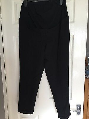 New Look Maternity Work Trousers 12 Black