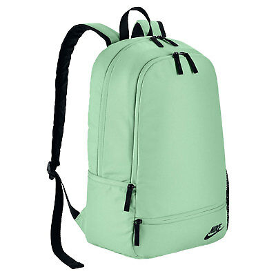 13c93864d2 Nike Backpack Bag Classic North Solid Light Green Turquoise Sea Zipped NWT