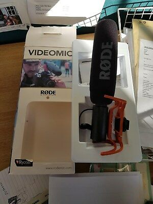Rode Videomic never been used
