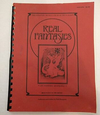 Real Fantasies, Real Musgrave, 1984, Rev 6th Ed., signed (2) Esoteric Portfolio