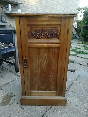 Victorian Satinwood Pot Cupboard