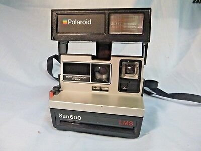 Polaroid Sun 600 LMS Instant Camera with Strap