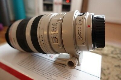 Canon EF 100-400mm L series lens F4.5/5.6 - damaged for repair
