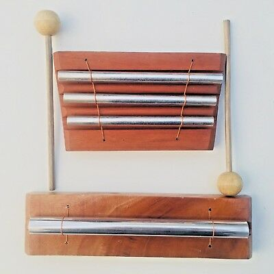 AURA CHIME Single & Three Key + Beater Sound Therapy, Space Clearing, Feng Shui