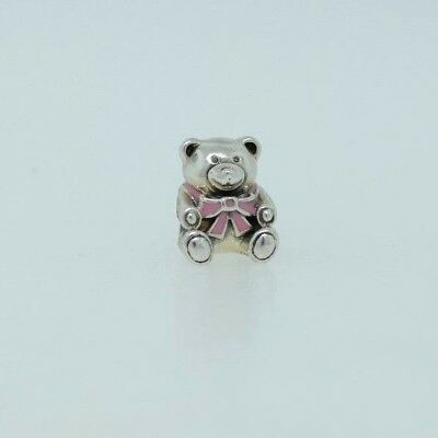 Sterling Silver 19x15mm Pink Enamel says It/'s a Girl Baby Charm