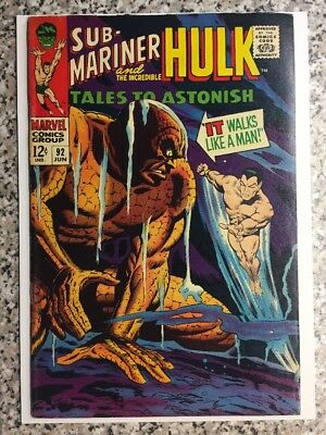 TALES TO ASTONISH 92, SILVER SURFER, HULK and NAMOR Appearance MARVEL June 1967