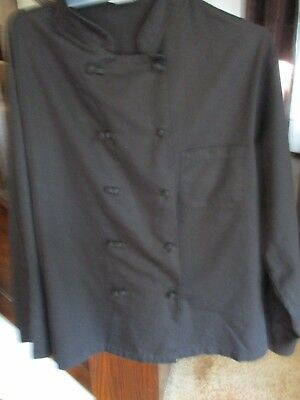 Chef Trends By Pinnacle Chef Coat -Size 2Xl - Black