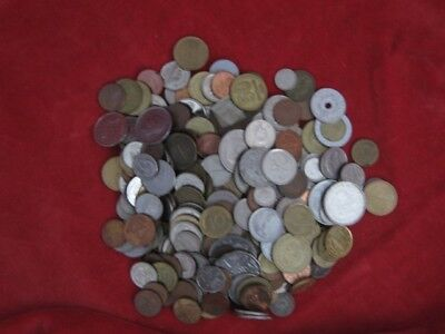 Job Lot of World Coins - one Kilo - no British coins