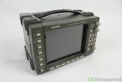 Leader LV 5750 Multi SDI Monitor Vectorscope
