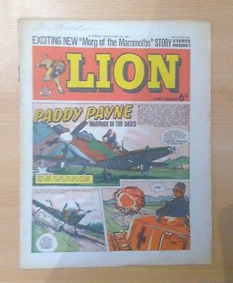 LION comic - 25th January 1964 - Paddy Payne - vg+ condition