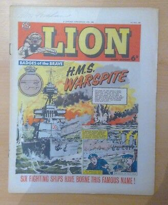 LION comic - 16th May 1964 - vg+ condition