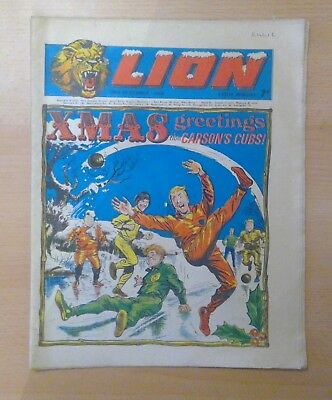 LION comic - 28th December 1968 - Christmas - vg condition