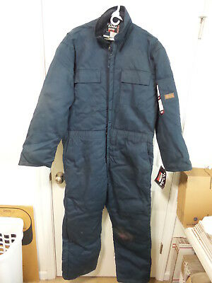 Walls Ultra Blizzard Pruf Men's Xl X-Large Regular Navy Blue Coveralls