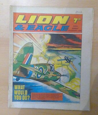 LION & EAGLE comic - 23rd August 1969 -  vg condition