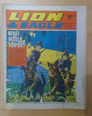 LION & EAGLE comic - 20th December 1969 -  vg condition