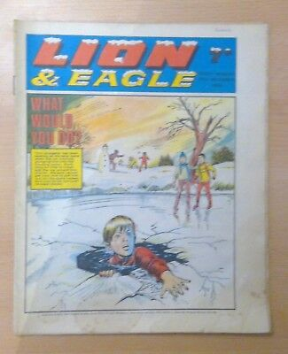 LION & EAGLE comic - 27th December 1969 -  vg condition
