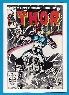 Mighty Thor #334_August 1983_Very Fine_Avengers_Possessor_Sif_Bronze Age Marvel!