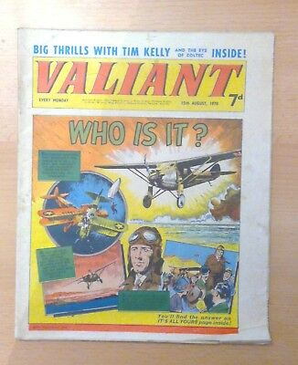 Valiant comic - 15th August 1970 -  vg condition