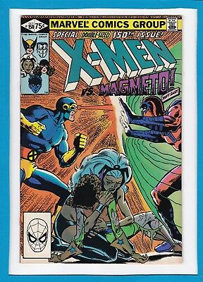 UNCANNY X-MEN #150_OCT 1981_VERY FINE+_MAGNETO_SPECIAL DOUBLE-SIZED 150th ISSUE!