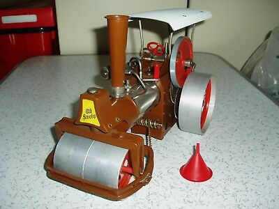 Wilesco - 'old Smoky' Steam Roller - Made In W. Germany