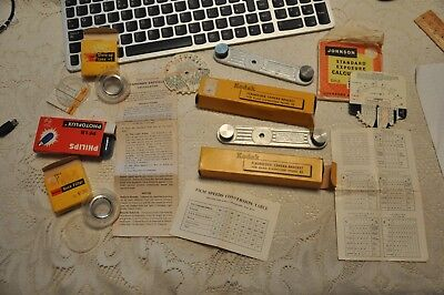 Kodak closeup, haze, camera brackets, 2 Johnson exposure calculators