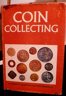 Coin Collecting Masters & Reinfeld Hdbk Bk MCMLX 128 Pgs History Values Advice