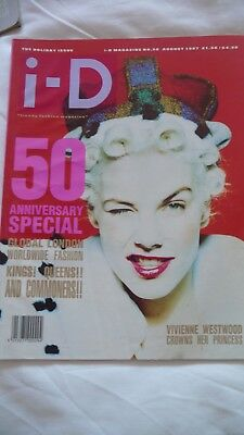 Id Magazine Holiday Issue - Vivienne Westwood August 1987 Issue 50