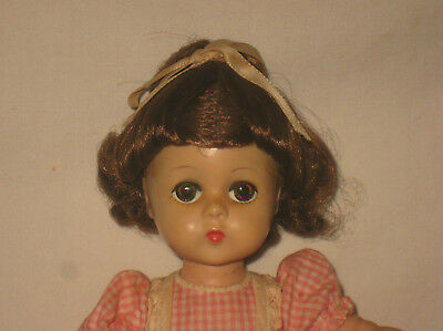 "1957 Madame Alexander 11.5"" HP Lissy Face Little Women's Beth Doll  MG10"
