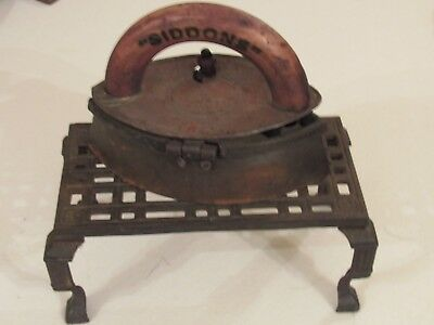 Siddons Cast Iron Antique Iron & Stand