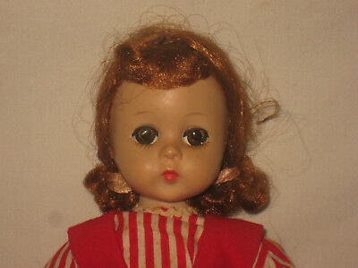 "1950's Madame Alexander 11.5"" Hard Plastic Lissy Face Doll  MG13"