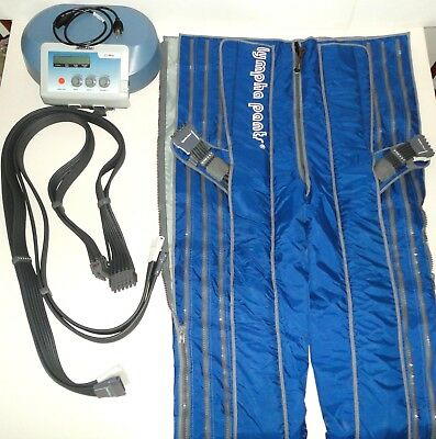 Lympha Press 201MAX w/ Lympha Pants & 2 Sets of Hoses ~ Tested & Working