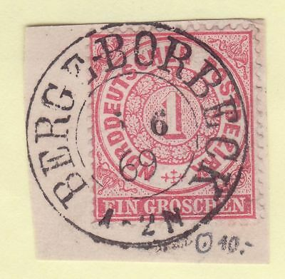 // AD NDP MiNr 16 Bfst. , Stempel BERGE - BORBECK , ideal , höchster LUXUS //
