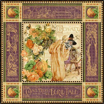 Graphic 45 An Eerie Tale 12x12 Papers- 12 Sheets RETIRED