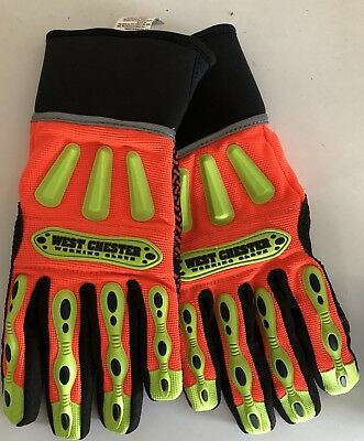 West Chester Insulated Cold Weather Working Gloves Size Medium #86711/M