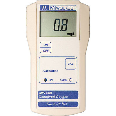 Milwaukee MW600 0.0-19.9ppm O2/l Dissolved Oxygen Meter