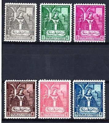 Dominican Republic Stamps 383-388 Our Lady of Altagracia MNH Mint Complete Set