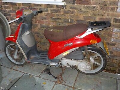 Piaggio Liberty 50 2t, spares repairs project?