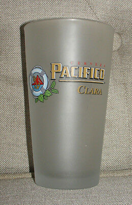 Cerveza Pacifico Clara Frosted Preserver Anchor Pint Beer Glass