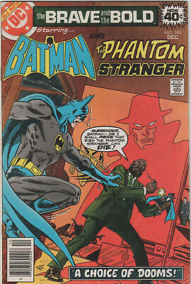 Batman Brave and the Bold 1977 DC Comic Book #145 DISCOUNT