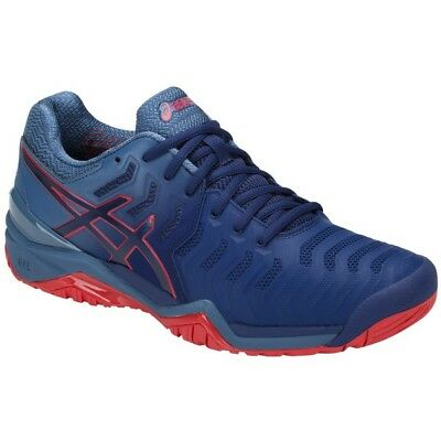 Asics Gel Resolution 7 Blue/Red Men's Shoes (Novak Djokovic)