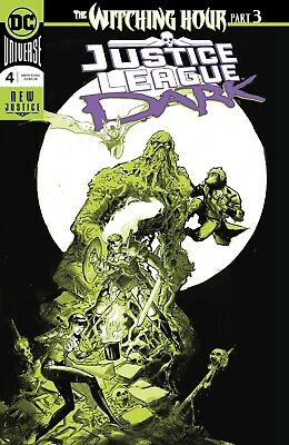 JUSTICE LEAGUE DARK 4 1st PRINT FOIL WITCHING HOUR NM PRE-SALE 10/17