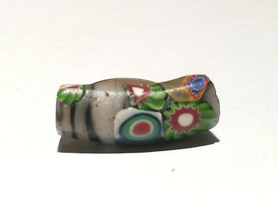 Antique Venetian Multi-Murine Hybrid Fancy Elbow African Glass Trade Bead