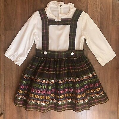 Vintage Girls Fall Dress