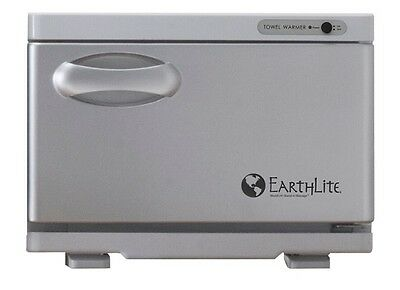 NEW EarthLite Spa Salon Mini UV Hot Towel Cabinet Towel Sanitizer Warmer White