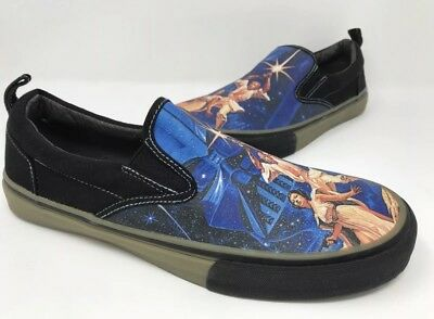 Skechers Star Wars The Menace A New Hope Slip-On Sneakers Shoes Mens Size  8.5 8276fe12a